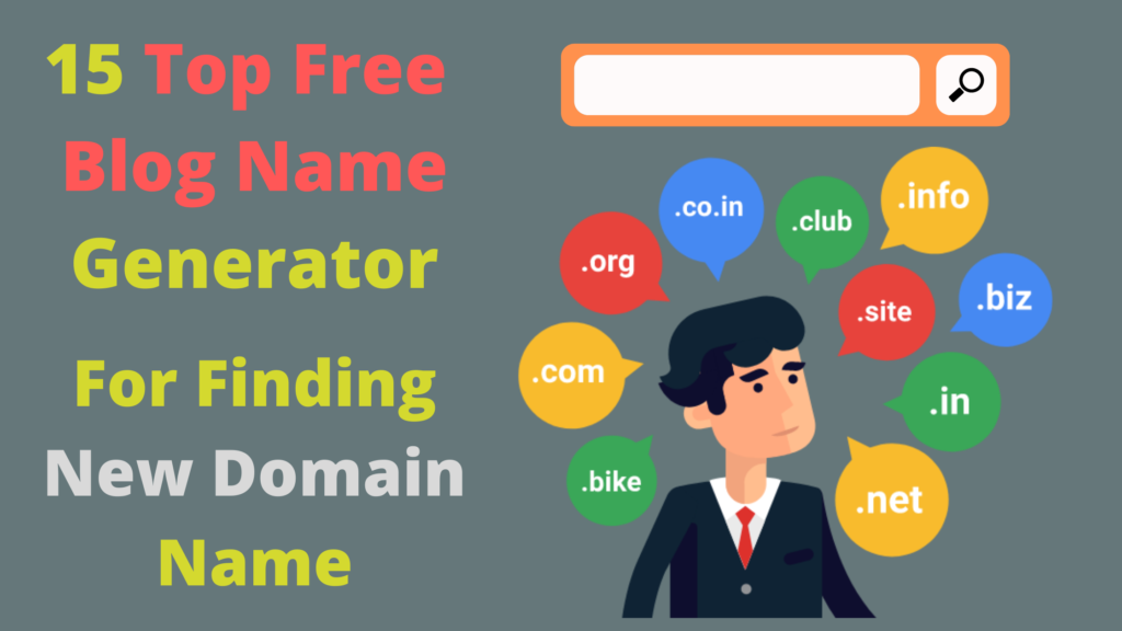 Top Free Blog Name Generator